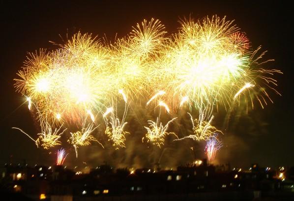 Feuerwerk in Tokyo (Shin-改 T)