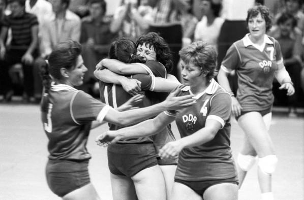Die Handballnationalmannschaft der DDR bei den Spielen der 22. Olympiade