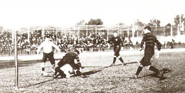 Frankreich - Deutschland (Spiele der II. Olympiade 1900 in Paris)