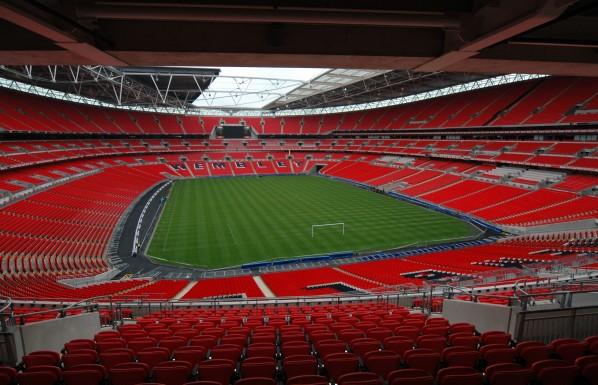 Wembley Stadium, London England