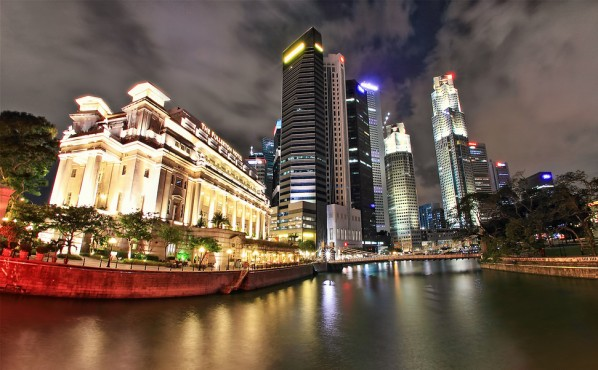 Fullerton Hotel, Singapur (Dem Romero)