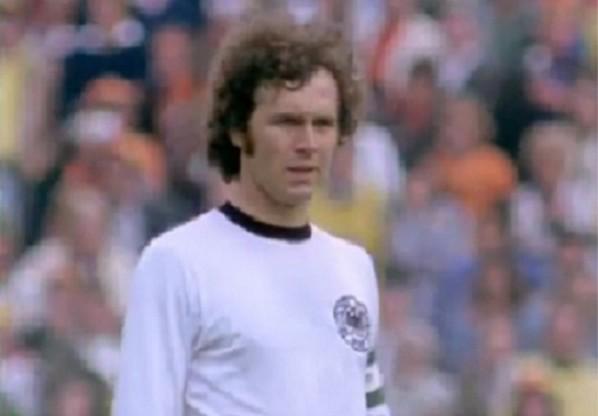 Frankz Beckenbauer vor dem WM-Finale 1974