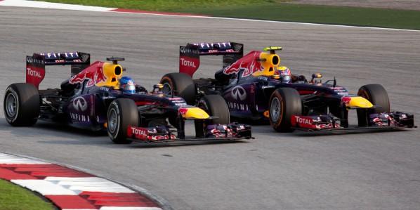 Vettel überholt Webber in Malaysien
