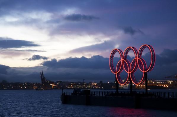 Olympische Ringe in Vancouver, Kanada, 2010 (adrian8_8)