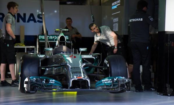 Mercedes F1 W05 (J. H. Sohn)