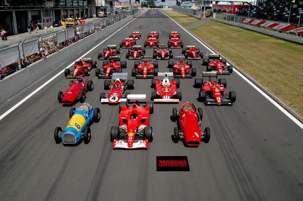 Ferraris Formel 1-Geschichte
